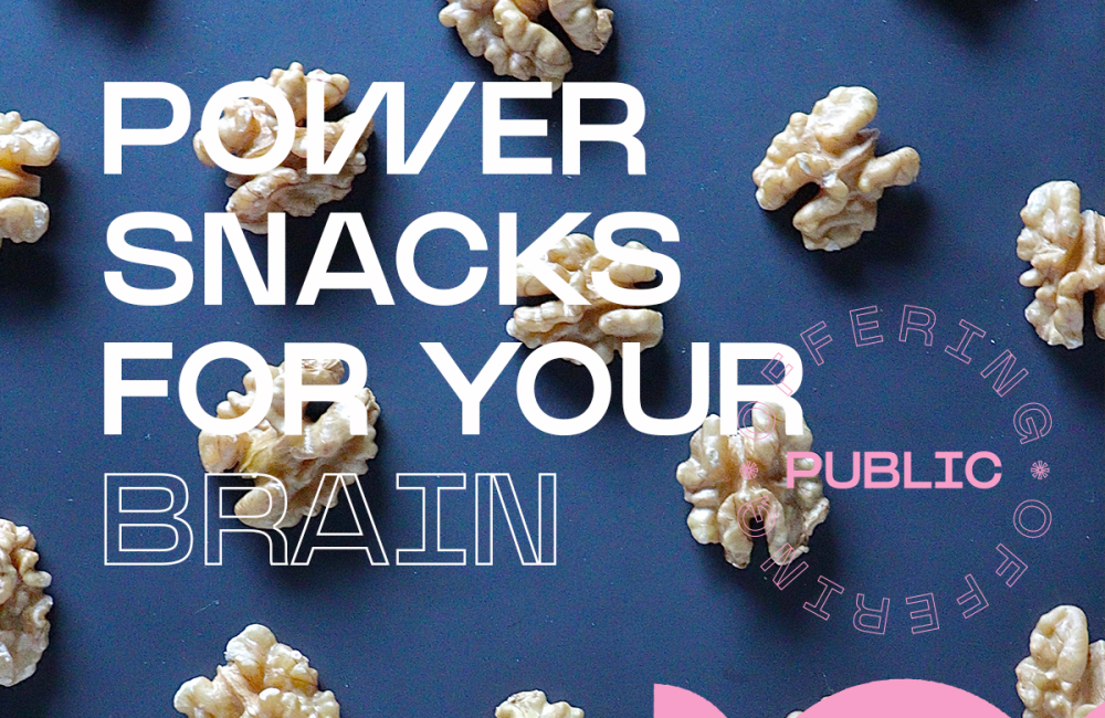 Power snacks for your brain